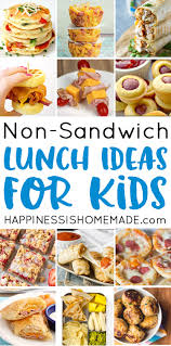 healthy lunch recipes for kids. Looking For Tasty Sandwich Alternatives To Pack In Your Lunchbox These Creative School Lunch Healthy Recipes Kids