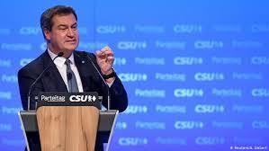 Markus söder nach der heutigen kabinettssitzung: Markus Soder Officially Takes The Reins Of Bavaria S Csu Party News Dw 19 01 2019