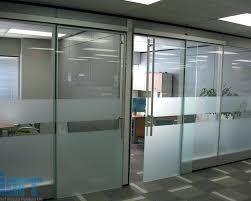 glass office doors sliding office doors double glass office doors