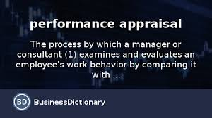 Performance Improvement Plan Definition Stunning What Is Performance Appraisal Definition And Meaning