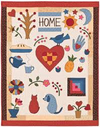 2008 May : All About Applique & Home: A Heartfelt Nap Quilt Adamdwight.com