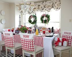 Amazing Christmas Chair Cover Ideas : Exciting Traditional Kitchen Christmas  Chair Cover Ideas Sleeves On Chairs