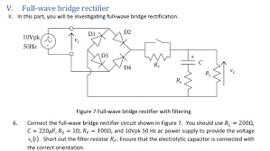 full wave bridge rectifier circuit in multisim electrical enter image description here