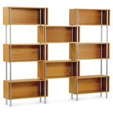 model wood shelving units