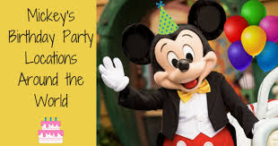 Image result for Mickey's birthday