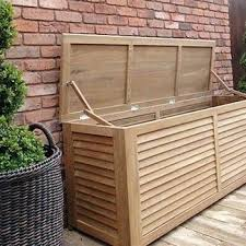 lovable patio cushion storage ideas outdoor teak wood and house garden bench outdoor pillow storage