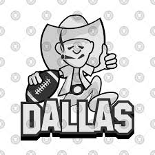 cartoon dallas cowboys nfl team t shirt