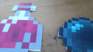 Minecraft Bedroom In Real Life Real Life Minecraft Arrows Decoration Prop Tutorial Diy Youtube
