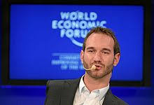nick vujicic  vujicic speaking during the session inspired for a lifetime at the world economic forum in davos switzerland on 30 2011