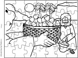 Small Picture Mana From Heaven Puzzle Activity Sheet Crafting The Word Of God