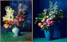still life flower arrangements inspired by famous paintings for valentine s day photos vogue vogue