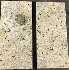 oil stain on granite