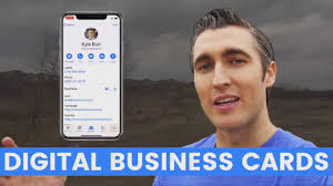Digital Business Card How To Make A Digital Business Card For Prospecting Youtube
