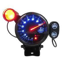 3 5 tachometer gauge kit led 11000 rpm auto meter shift 3 5 car blue led tachometer gauge auto meter shift light 11000 rpm us s1g8