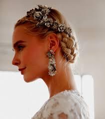 Coiffure Pour Mariage Chignon Cheveux Long Un Tresse Longs
