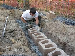 interior diy brick retaining wall how to build a ate creative modest 8 how