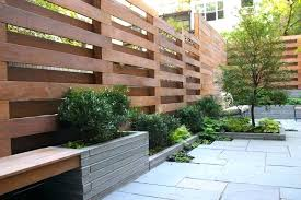 patio privacy fence simple deck screen
