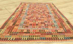 double face extra large size amazing afghan hand woven veg dyes ghazni wool kilim area rug