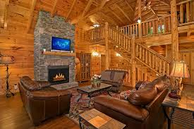 Log Cabin Living Room Enchanting 48Bedroom Alpine Mountain Village Cabin Sleeps 48