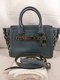 nwt coach swagger 27 willow fl dark mineral leather 59091