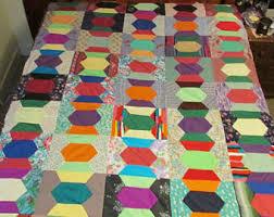 Vintage quilt top | Etsy & Vintage Quilt Top Adamdwight.com
