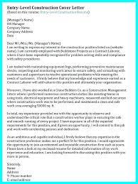 Superintendent Construction Resume Construction Superintendent Resume Cover Letter For Management Plus