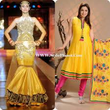 Best Dress Design 2017 Mehndi Dresses Shalwar Kameez All In One Wallpapers