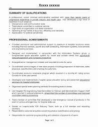 Sample Resume For Medical Records Clerk Lovely Medical