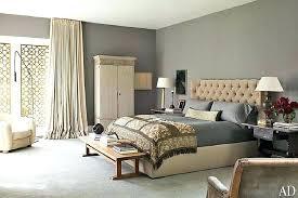 gray and tan bedroom grey black