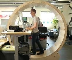 home office standing desk. Home Office Standing Desk Hamster Wheel Ideas