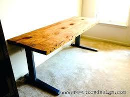 custom wood office furniture. L Shape Wood Desk Custom Office Furniture Urban Solid