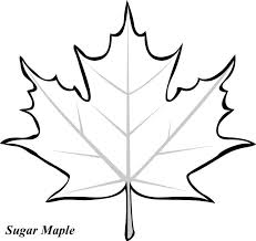Leaf Printable Coloring Pages Piecing Coloring Pages Crafts