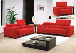 red living room set. red fabric modern 3pc living room set w/adjustable backs d