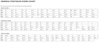 Overland Size Chart
