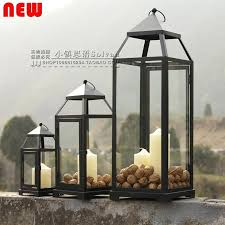 floor lanterns for candles large outdoor candle lanterns park cinnamon floor standing lantern candle holders