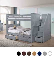 full bunk beds with stairs. Fine Full To Full Bunk Beds With Stairs O