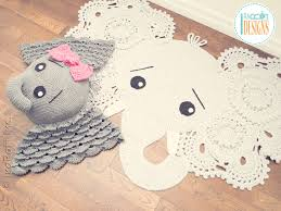 Elephant Rug Crochet Pattern Awesome Elephant Crochet Patterns By IraRott Handmade Hats Crochet