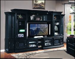 ... Wall Units, Astounding Black Entertainment Center Wall Unit Modern  Entertainment Centers Rustic Design Cabinets With ...