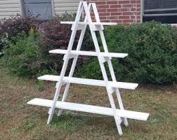Craft Show Display Stands Ladder Shelf 100 ft Wooden Ladder Craft Fair Display Craft 58