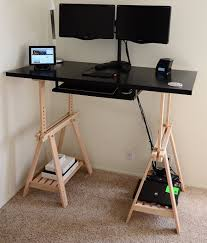 simple diy standing desk