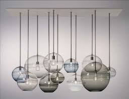 Glass Kitchen Light Fixtures Dining Room Lighting Glass Pendant Kitchen F Fixtures Light Shades