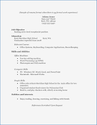 Resume Template For High School Graduate Best Resume Template For