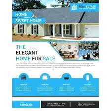 Home Flyers Template Free Elegant Real Estate Flyer Template Home For Sale Open