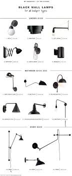 kinds of lighting fixtures. Type Of Lighting Fixtures. 15 Favorite Black Wall Light Fixtures For All Budget Types | Kinds P