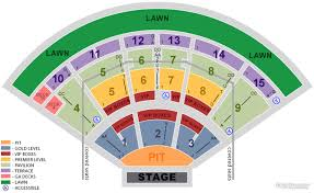 Stargazer Pavilion Seating Chart 37 Unexpected Blossom Music Center Seating Chart Pit