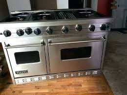viking 48 range. Viking 48 Cooktops Range 6 Burners With Grill Double Oven Convection Or Regular Cooking Stove