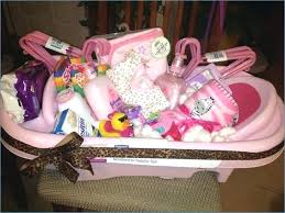 baby shower basket ideas for girl gift guests diy mom