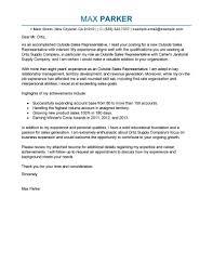 Customer Service Representative Cover Letter Sample Of