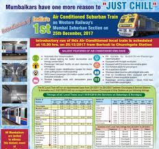 Kolkata Local Train Fare Chart Mumbai Ac Local Train Details