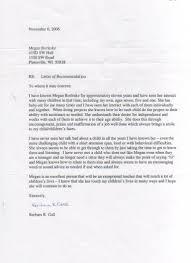 cover letter recommendation letter nanny letter of recommendation for work sample of nanny cover letters